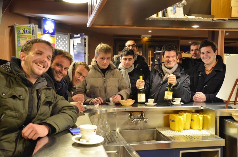 Malys evenement - visite à Rungis café