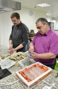 Malys evenement - visite à Rungis les huîtres au petit dej
