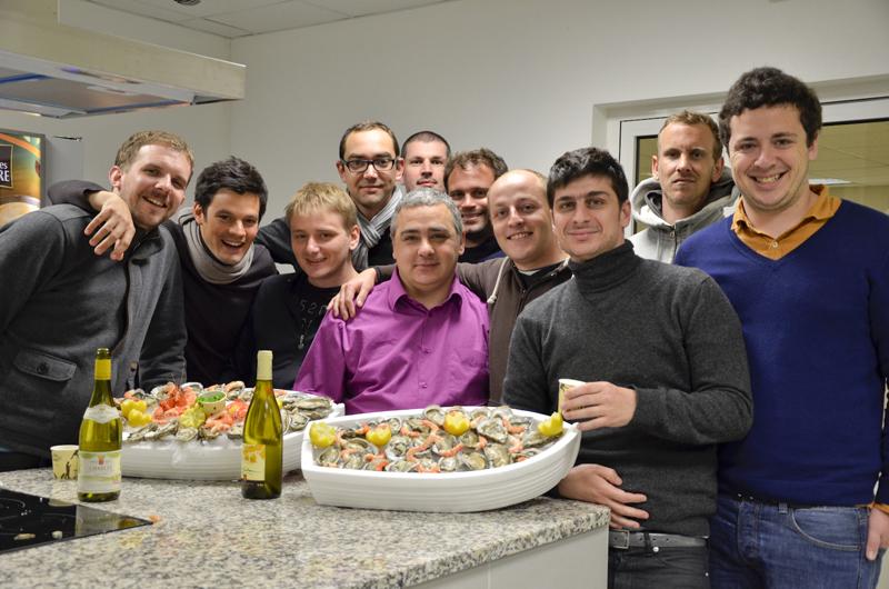 Malys evenement - visite à Rungis l'équipe