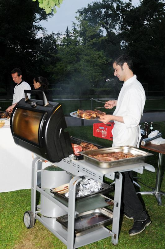 Garden Party Malys - le stand viande