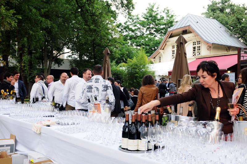 Garden Party Malys - Stand de vin Vinom