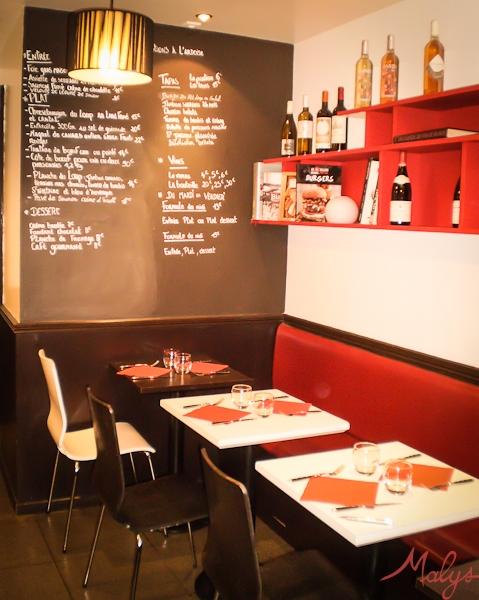 la table du loup - restaurant dans le 12ème - blog malys