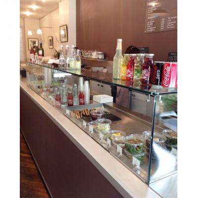 Vitrine sandwich salades pause malesherbes paris malys